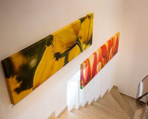Heide Bechthold Treppe oben