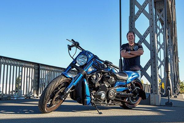 Motorrad vier