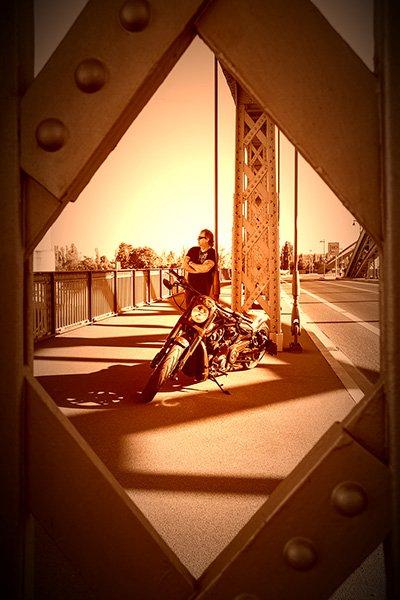 Motorrad sechs