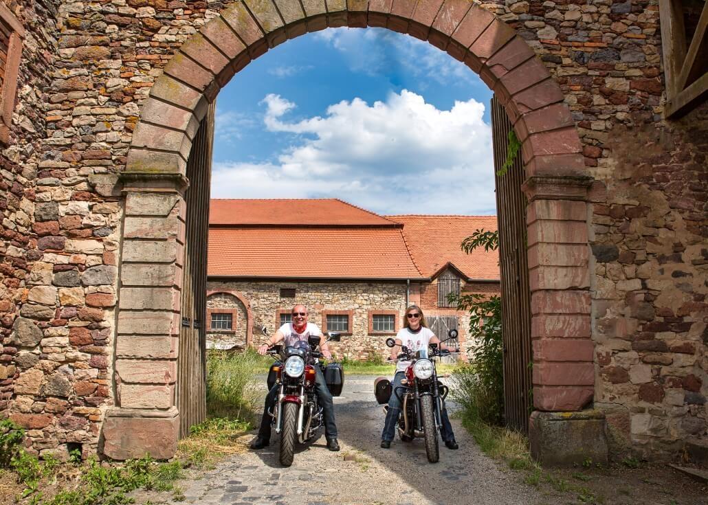 Bilder mit Motorrad - Fotoshooting mit Das Portrait