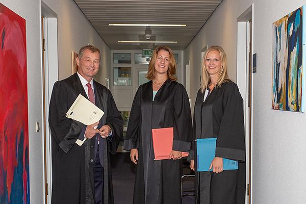 Businessfotos von 3 Anwälten*innen vom Fotostudio das Portrait, Frankfurt am Main