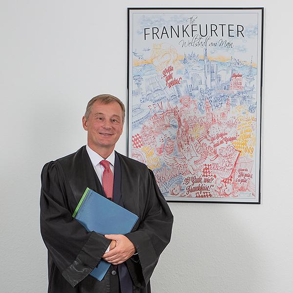 Businessfoto vom Anwalt fotografiert vom Fotostudio Das Portrait